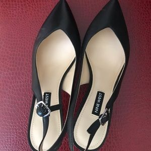 Nine West Slingbacks - black